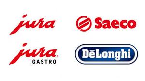 Kaffeemaschinen-Logos